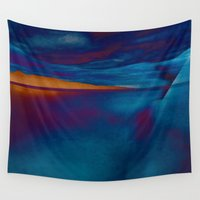 skyline Wall Tapestries featuring Skyline by Stephen Linhart
