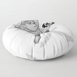 KungFu Zodiac - Monkey Floor Pillow