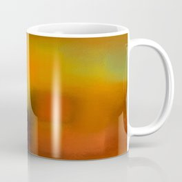 Colorfield (Orange/Red/Green) Coffee Mug