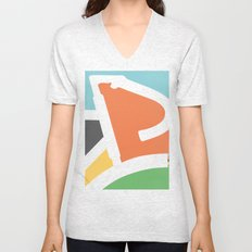In Rainbow Unisex V-Neck