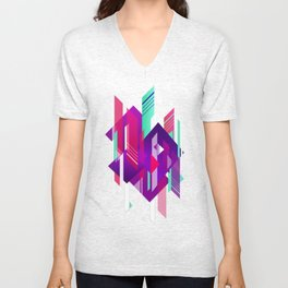 Shattered and Stained Unisex V-Neck