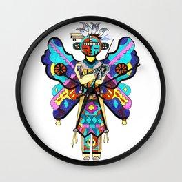 Kachina Butterfly 5 Wall Clock