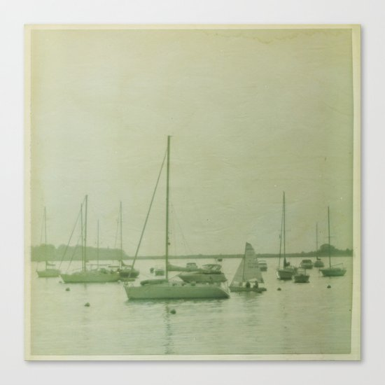 Searching For The Anchor Canvas Print