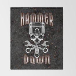 Hammer Down Throw Blanket