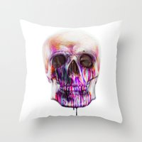 true blood Throw Pillows featuring True Blood A by beart24