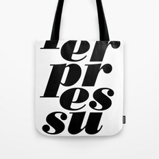 peerpressure   light Tote Bag