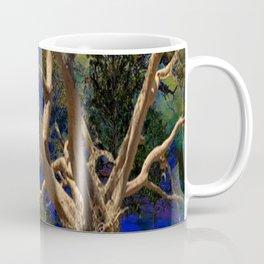 CONTEMPORARY BLUE  WILDERNESS ART  DESIGN Coffee Mug