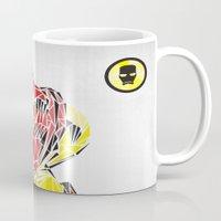 ironman Mugs featuring Ironman by Josh Ln