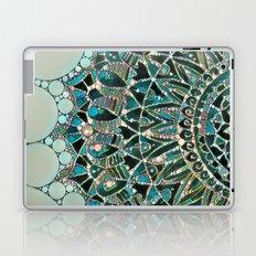 Bloom Mandala in Ocean Laptop & iPad Skin