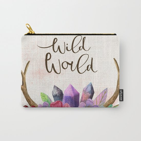 Wild world Carry-All Pouch
