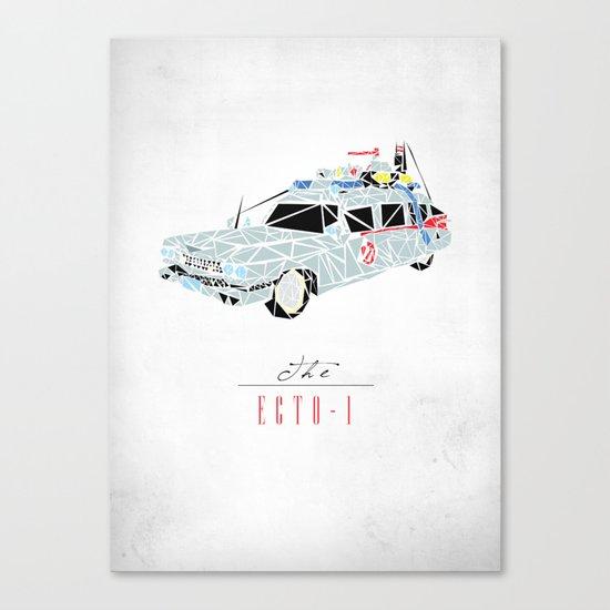 Ecto-1 Canvas Print