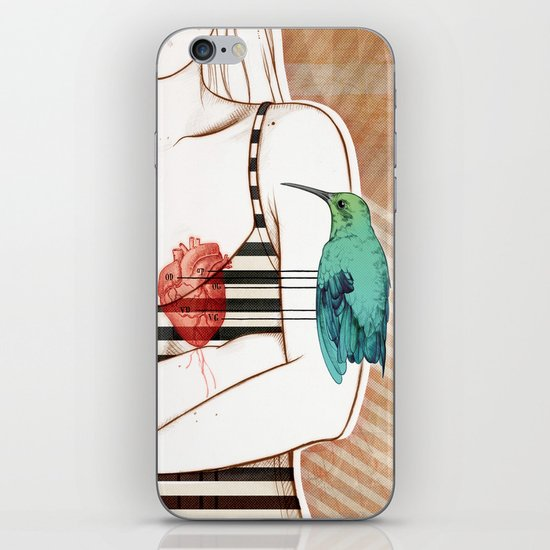 Palpitation V2 iPhone & iPod Skin