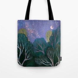 Starlit Woods Tote Bag