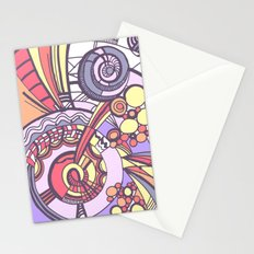 my doodles 3B Stationery Cards