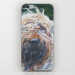 Soft-coated Wheaten Terrier from an original painting by L.A.Shepard iPhone Skin