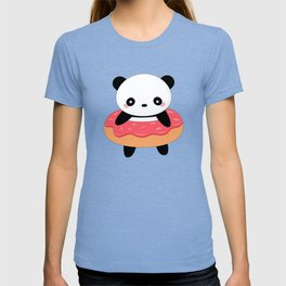 Kawaii Donut Panda T-shirt