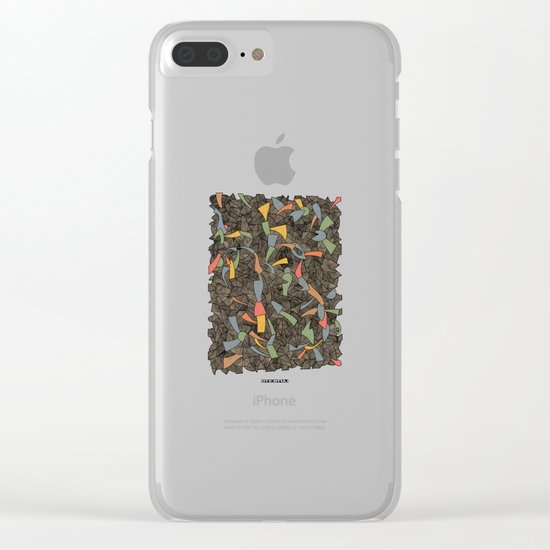 - autumn - Clear iPhone Case