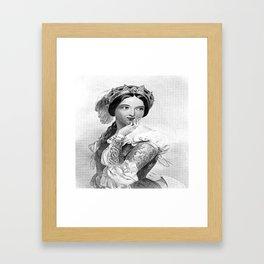 Princess of France Framed Art Print