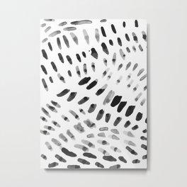 Dabs and Spots Metal Print