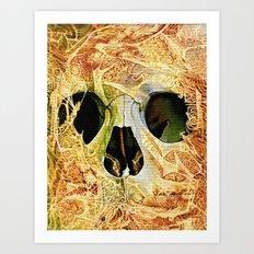 nuance skull Art Print
