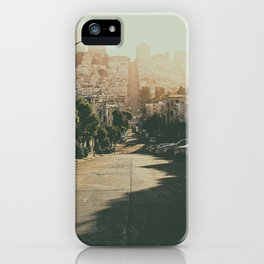 San Francisco-The Hills iPhone Case
