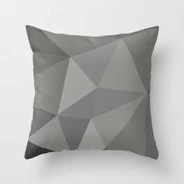 Polygon art 01 Throw Pillow