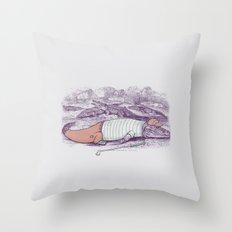 Golf Buddy Roger Throw Pillow