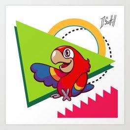 Parrot Pal Art Print