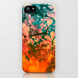 Autumn Fantasy colors of love & light iPhone Case