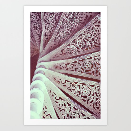Step down pattern... Art Print
