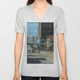 Where Can You Find Dragons, Coppolas & a Giant Nozzle. Unisex V-Neck