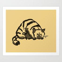Pretty cat Art Print