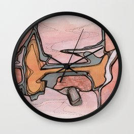 Shedding I Wall Clock