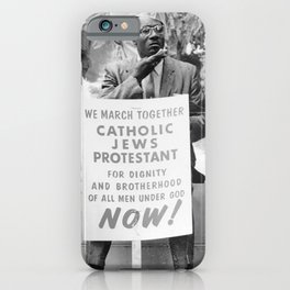 Religions Against Hate iPhone Case