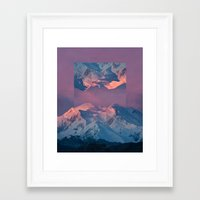 witchoria Framed Art Prints featuring With abandon. by witchoria
