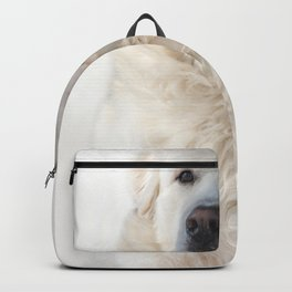 Great Pyrenees dog Backpack