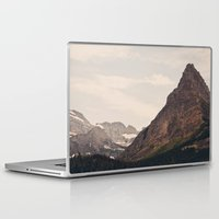 montana Laptop & iPad Skins featuring Montana Mountain by Kurt Rahn