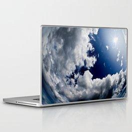 Blue sky with cloud Laptop & iPad Skin