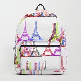 Bon jour,Paris Backpack