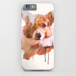 Corgi Forest iPhone Case