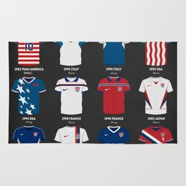 The Evolution of the Us World Cup Soccer Jersey Rug