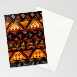 Modern Native American Pattern Stationery Cards