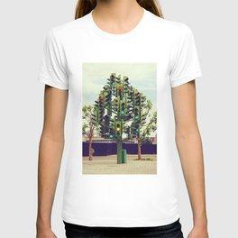 Traffic light tree in Canary Wharf, London - Fine Art Travel Art Photography T-shirt