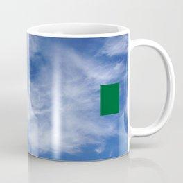 censored: cloud face with ufo Coffee Mug