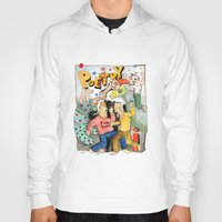 poetry Hoodies featuring Poetry Party by Bruce Zeines