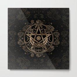 Pentagram Ornament Metal Print