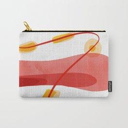 A beginning | Happy Modern Art Carry-All Pouch