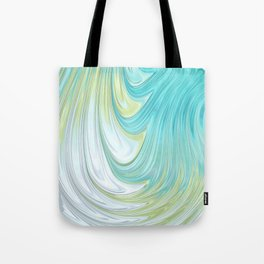 Teal Dreams Collection (2) - Fractal Art  Tote Bag