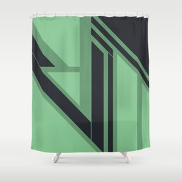 Emanate, #1 Minted Shower Curtain