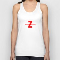 movies Tank Tops featuring SEX, PIZZA, & ZOMBIE MOVIES by Lon Casler Bixby - Neoichi